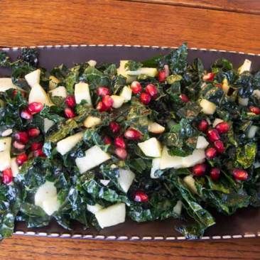 Christmas Salad with Pomegranate