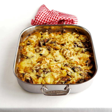Potato Gratin with Forest Mushrooms