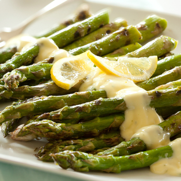 Asparagus with Almond Sauce
